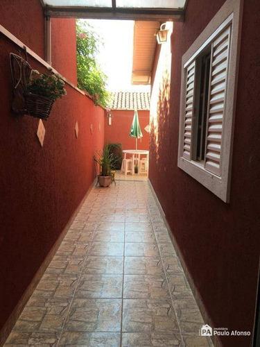 Casa Com 3 Dormitórios À Venda, 111 M² Por R$ 600.000,00 - Jardim Das Hortênsias - Poços De Caldas/mg - Ca0098