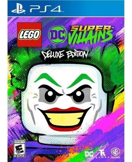 Lego Super Vilões Deluxe- Lego Vilões Ps4 Deluxe- Envio Hoje