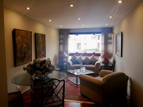 Venta Departamento San Borja. 2 Piso 3 Dormitorios 1 Cochera