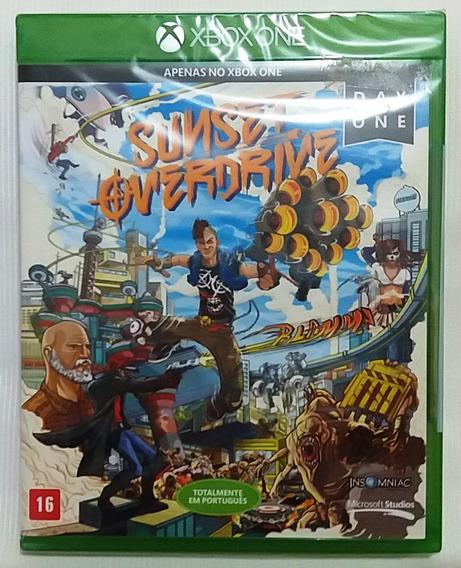 Sunset Overdrive Xbox One Mídia Física * Frete C/ Desc*