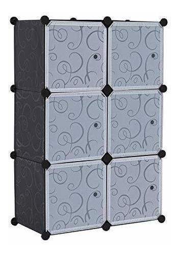 Imagen 1 de 7 de 6-cubo Diy Cubo De Almacenamiento Organizador De 3 Niveles E