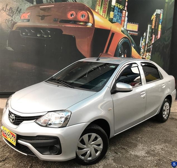 Toyota Etios 1.5 X Sedan 16v Flex 4p Manual 2017/2018