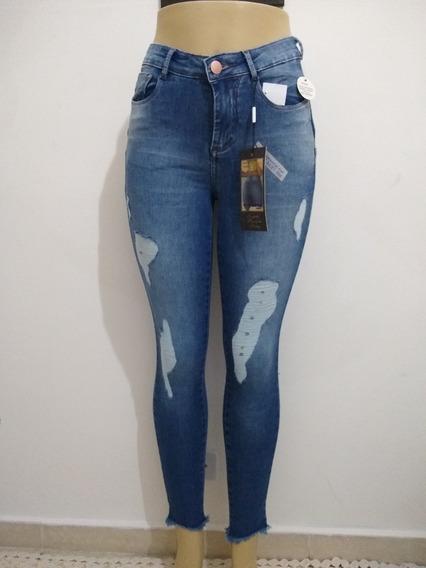 Calça Consciencia Jeans Destroyed Rasgada Extreme Power
