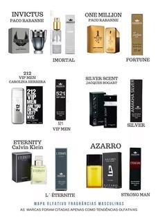 10 Perfumes Para Revenda Amakha Paris Com 33% De Essencia
