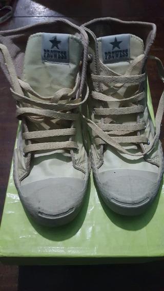 Zapatillas Botitas De Dama Simil Cuero N° 37