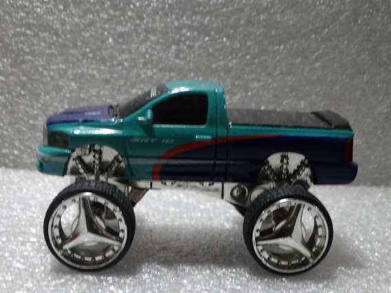 Dodge Ram Srt10 Pickup Rodões Loose 10 Cm Comprimento