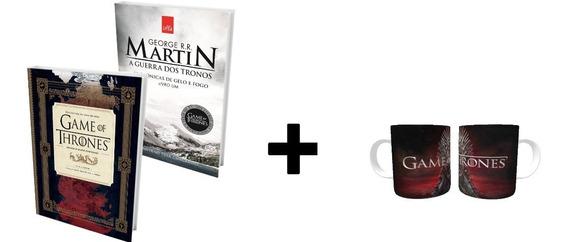 Livro - Guia Hbo E Game Of Thrones + Caneca Personalizada