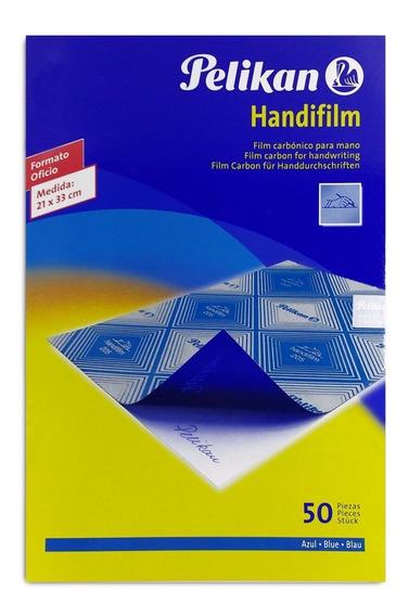 Carbonico Pelikan Handf/oficio Azul 205 Caj*50