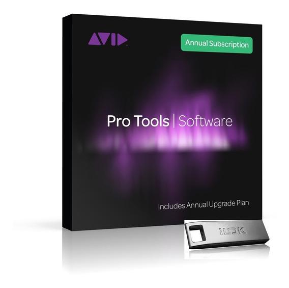 Novo Avid Pro Tools - Assinatura Anual + Ilok3 Em 12x Sem Juros