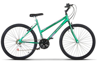 Bicicleta Aro 26 Protork Ultra Feminino Freio V Break