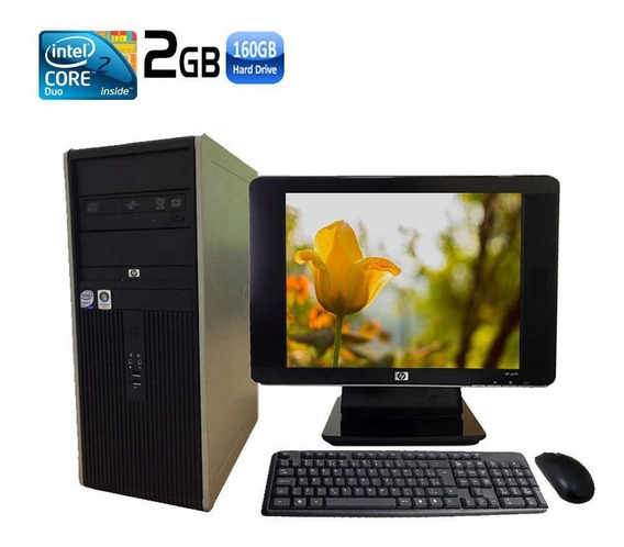 Computador Completo Hp Dc 7800 Intel Core 2 Duo 4gb Hd 160gb