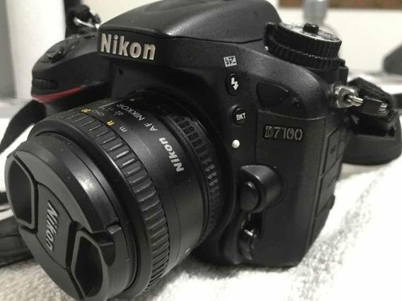 Máquina Fotográfica Nikon D7100 + Lente 50mm Nikon