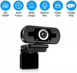 Camara Web Lm15 1080p Con Microfono Usb
