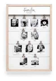 Porta Retrato Varal Fotos Família De Casa