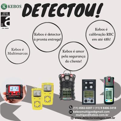Locação Detectores De Gás - Kebos