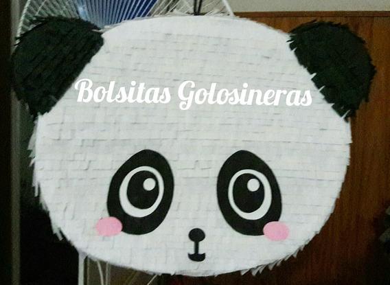 Piñata Panda Kawai. Oso Panda. Artesanal Personalizada