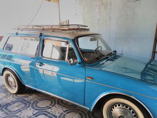 Volkswagen Variante Azul Ano 1972 Motor 1.6 , 2 Portas