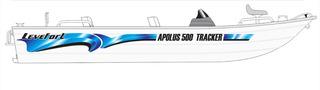 Faixa Adesivo Barco Apolus 500 Tracker