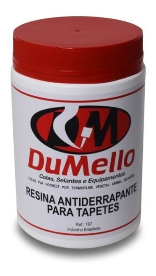 Resina Antiderrapante Para Tapetes 2 Kg (cola Para Tapetes)