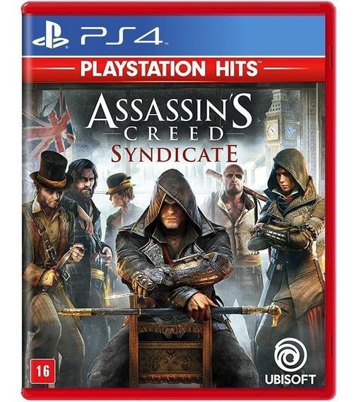 Jogo Assassins Creed Syndicate Ps4 Novo Mídia Física Lacrado + Nf