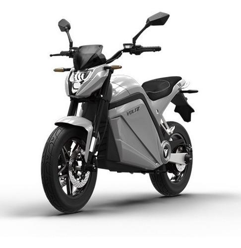 Imagem 1 de 10 de Moto Elétrica Evs Voltz Motors Prata - Uma Bateria