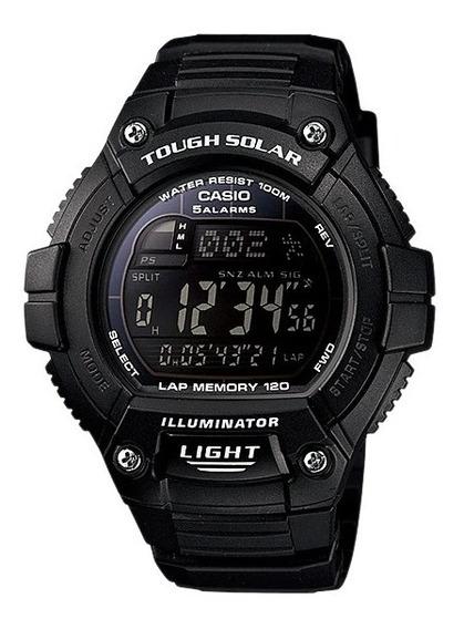 Relógio Casio Ws-220-1bv Tough Solar Corrida