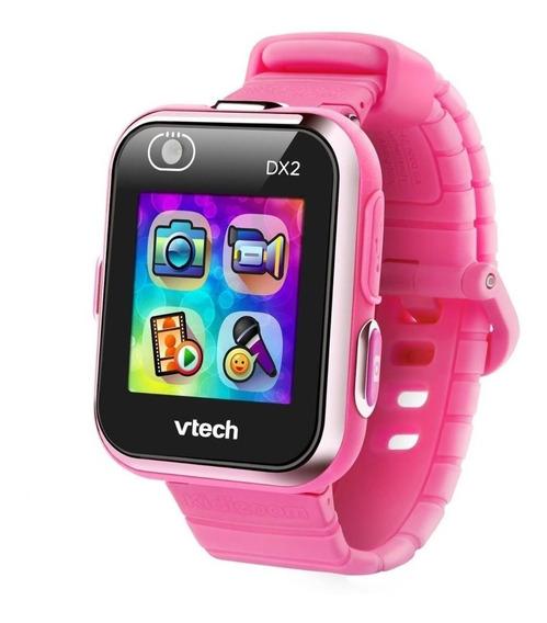 Vtech Reloj Smartwatch Dx2 Para Niños Rosa Dual Camara