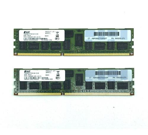 Imagem 1 de 1 de Memoria Ram 16gb Ddr3 10600r 2x 8gb Mac Pro Macpro Servidor