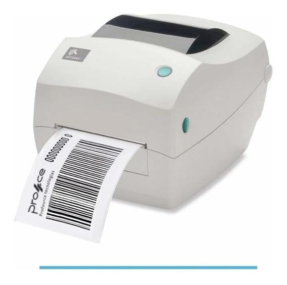 Impressora Termica De Etiqueta Zebra Gc420t 203dpi Usb, Seri