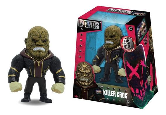 Figura Metals Suicide Squad Killer Croc 11 Cm.