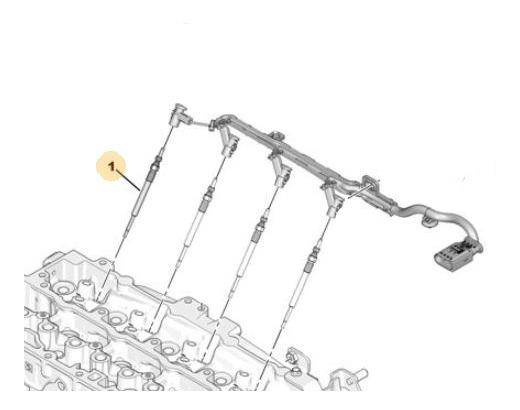 Bujia Precalentamiento Peugeot Expert 1.6 Hdi 8v