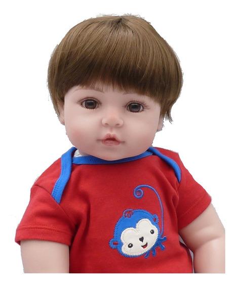 Bebe Reborn Menino Boneco Reborn Npk Original