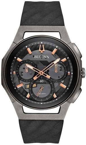Relógio Bulova Curv Precisionist Cronógrafo Titânio 98a162