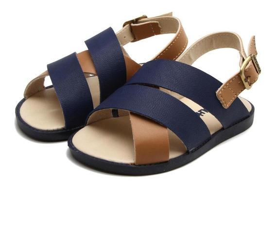 Sandália Pimpolho Menino - Azul