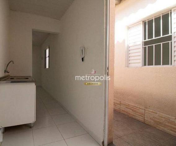 Casa Com 1 Dormitório Para Alugar, 49 M² Por R$ 950/mês - Osvaldo Cruz - São Caetano Do Sul/sp - Ca0476