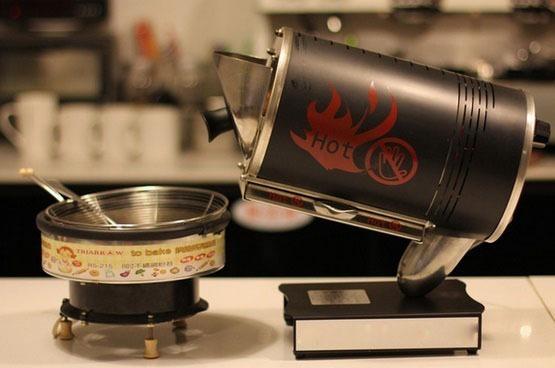 Máquina Tostadora De Café De Alta Calidad Acero Inoxidable