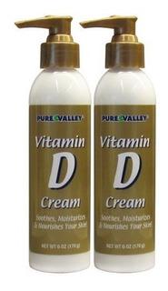 Valle Puro Vitamina D Crema Conjunto De 2 Hidratar Y Nutre