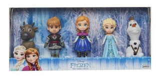 Princesas Muñecas Frozen Mini Toddler Set De Regalo