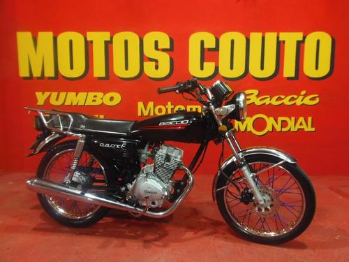 Baccio Classic F 125 Impecable Año 2020 ==motos Couto ==