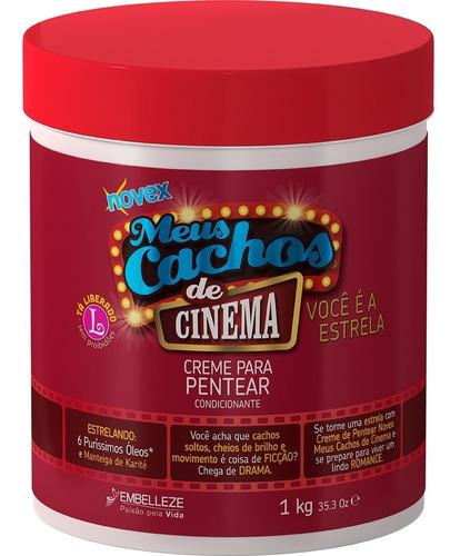 Imagen 1 de 1 de Novex Crema Para Peinar Cinema - G A $85 - g a $90