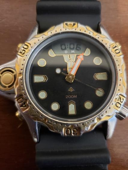 Relógio Citizen Aqualand C22 Zerado Muito Novo Funciona Perf