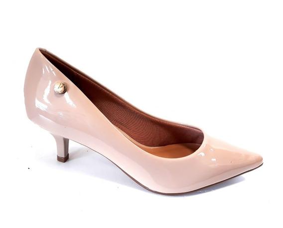 Zapato Vizzano Stilleto Punta Fina Taco 5cm Charolado Verniz