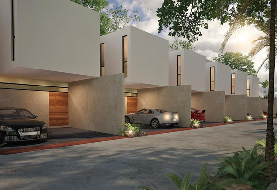 Townhouse En Venta En Merida,santa Rita Cholul, Excelente Ubicacion