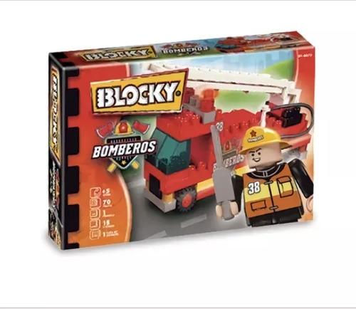 Toys Palace Blocky Bomberos 1