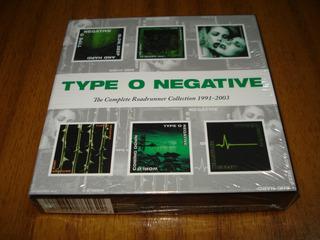 Box Cd Type O Negative / Roadrunner...(nuevo Y Sellado) 6 Cd