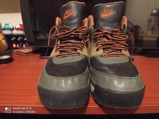 Nike Air Max Retro High Top Army 316339-381 Talla 31 Mx