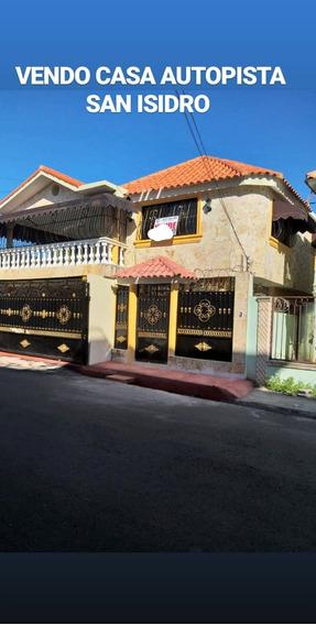 Casa De Dos Niveles Autopista San Isidro Residencial Brisas