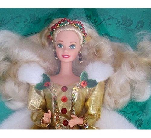 Imagen 1 de 4 de Muñeca Barbie 1994 Happy Holiday Special Edition
