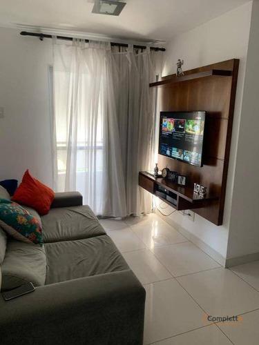 Apartamento Com 3 Dormitórios À Venda, 60 M² Por R$ 340.000 - Taquara. - Ap0098
