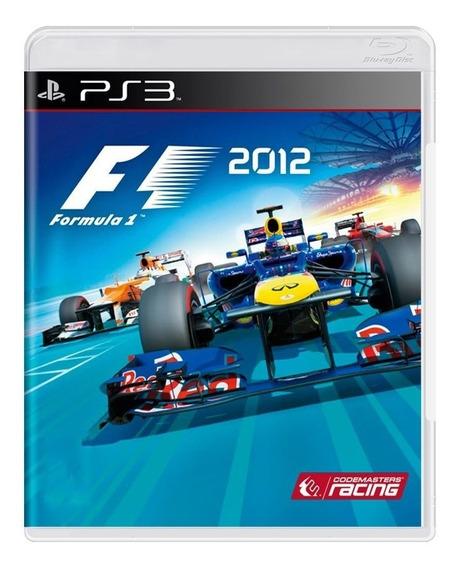 Game - Formula 1 2012 - Ps3